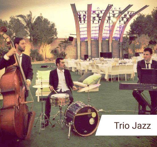 מופע טריו ג'אז